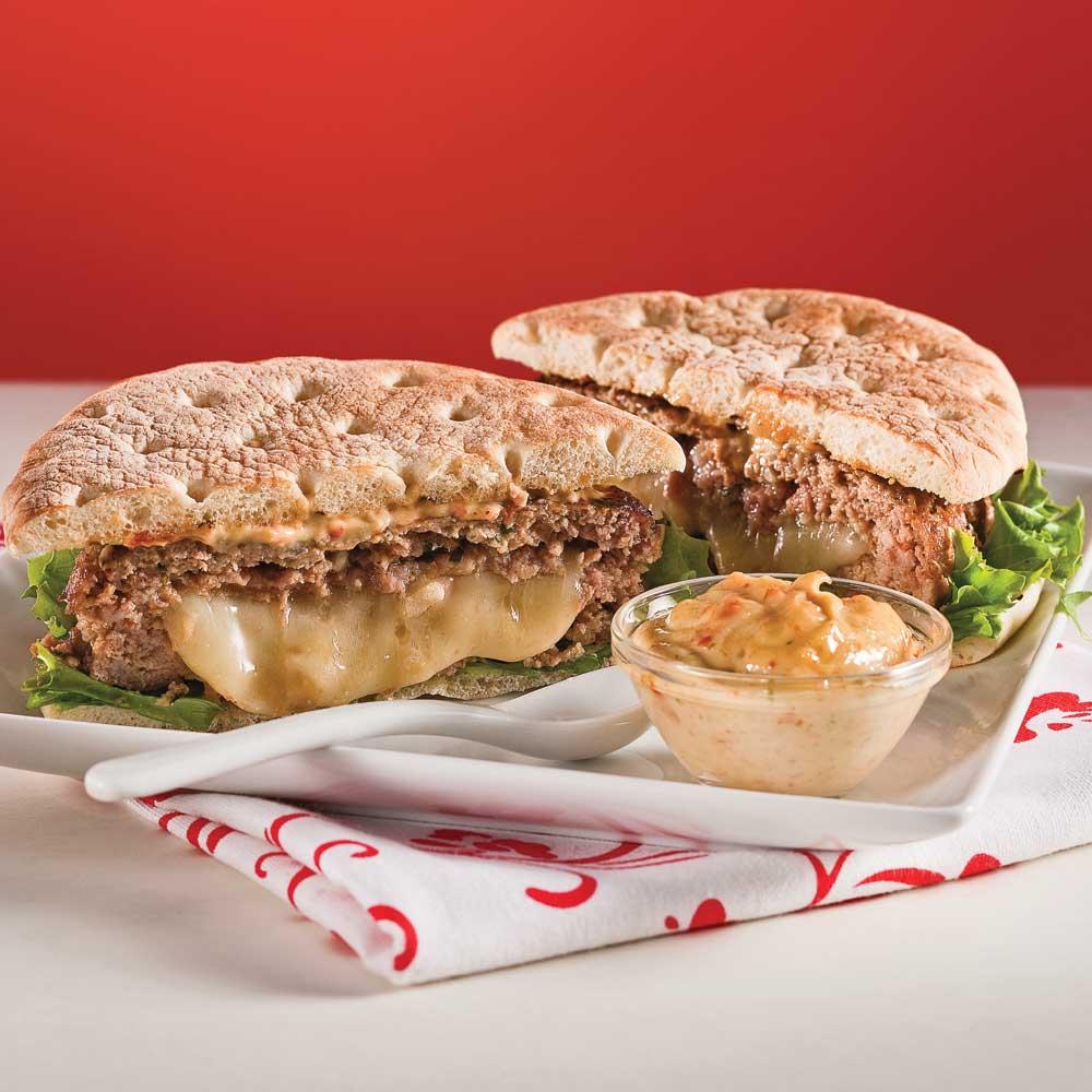 Burgers farcis l 39 italienne recettes cuisine et for Cuisine a l italienne