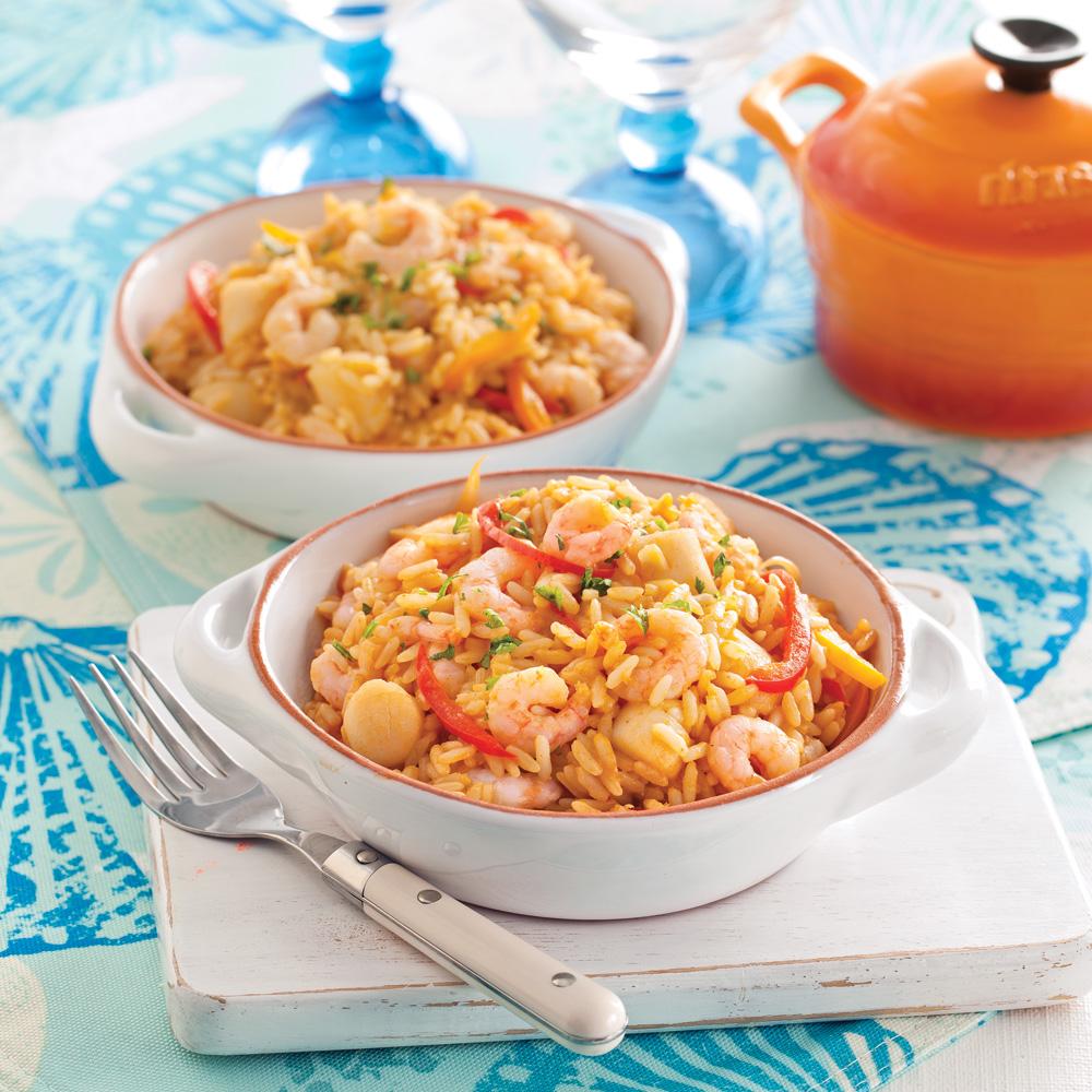 casserole de fruits de mer de la nouvelle orl ans recettes cuisine et nutrition pratico. Black Bedroom Furniture Sets. Home Design Ideas