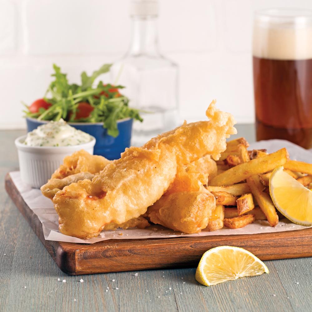 fish 39 n chips de saumon recettes cuisine et nutrition pratico pratique. Black Bedroom Furniture Sets. Home Design Ideas