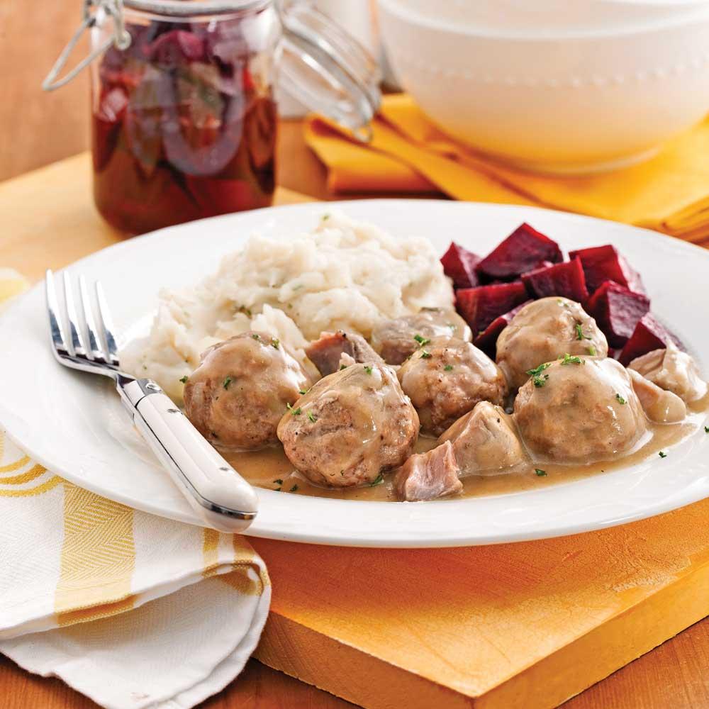 Rago t de boulettes traditionnel recettes cuisine et - Cuisine et tradition morlaix ...