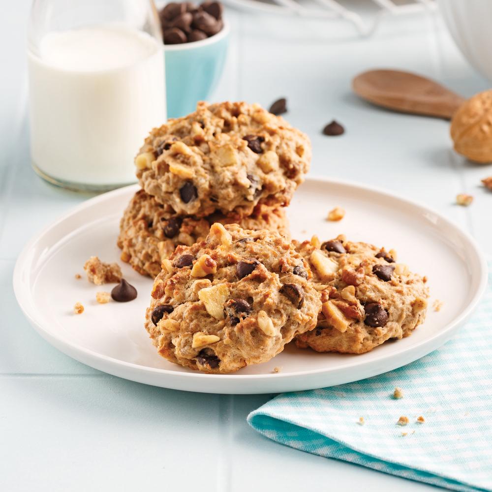 biscuits moelleux bananes et chocolat recettes cuisine et nutrition pratico pratique. Black Bedroom Furniture Sets. Home Design Ideas
