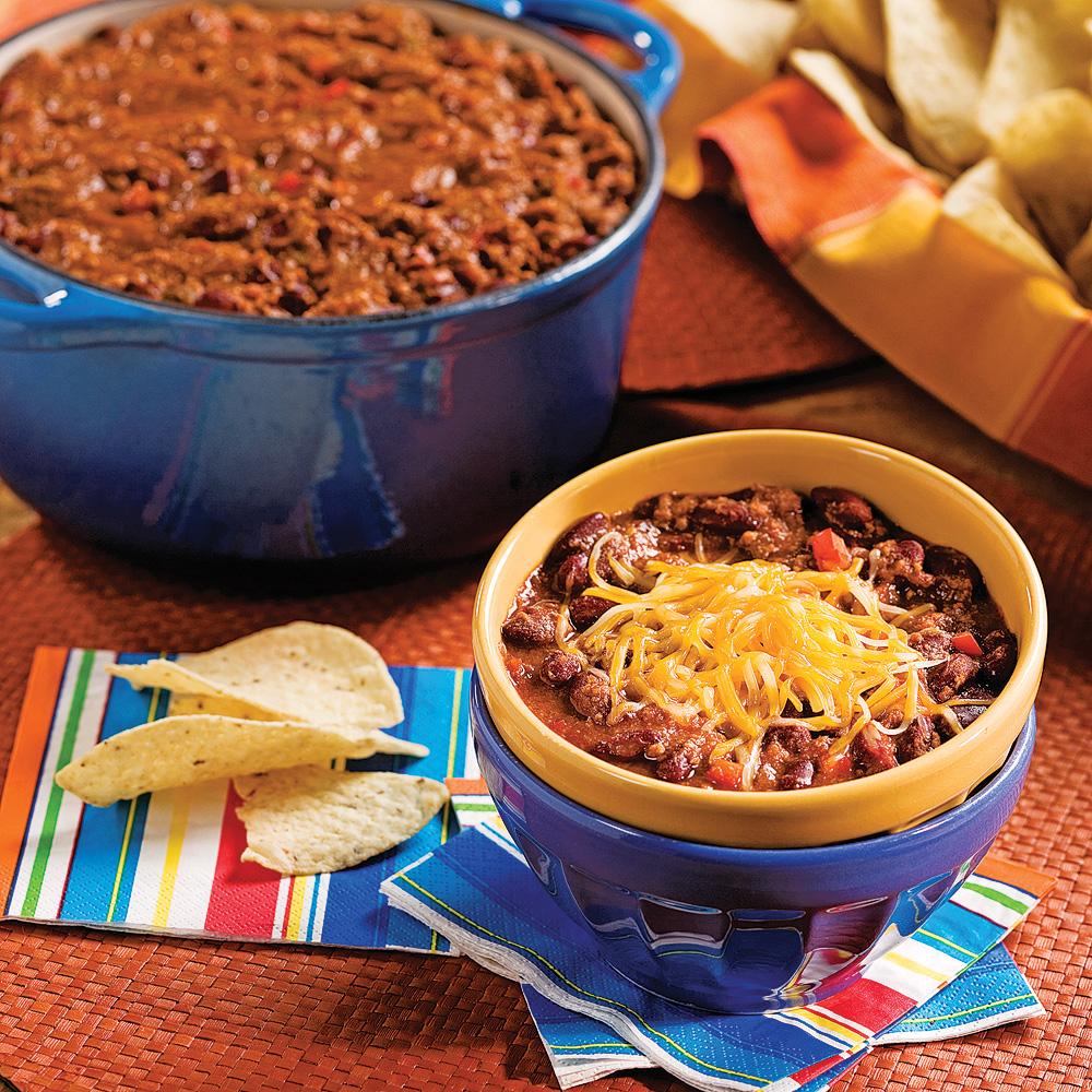 Chili con carne recettes cuisine et nutrition - Recette chili cone carne thermomix ...