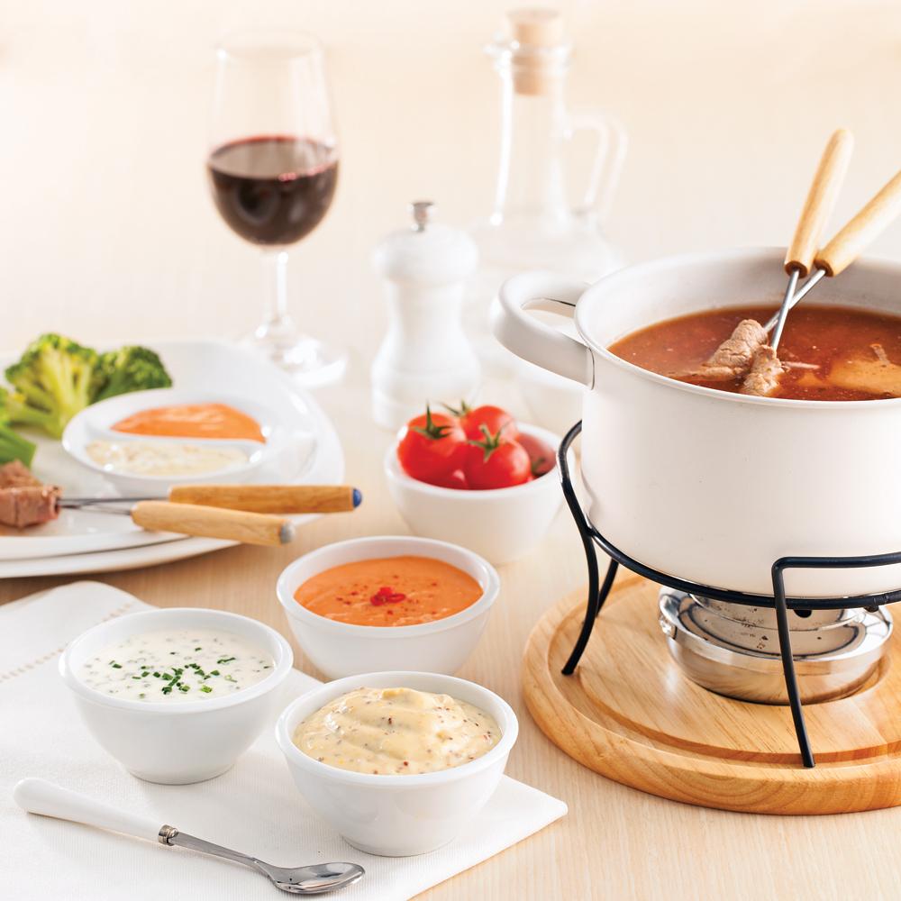 nos 10 meilleures sauces fondue recettes cuisine et nutrition pratico pratique. Black Bedroom Furniture Sets. Home Design Ideas