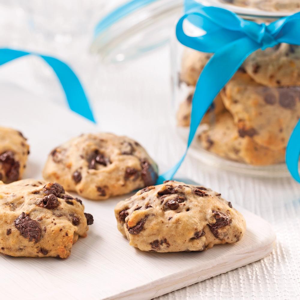 biscuits moelleux au chocolat noir et l 39 orange recettes cuisine et nutrition pratico. Black Bedroom Furniture Sets. Home Design Ideas