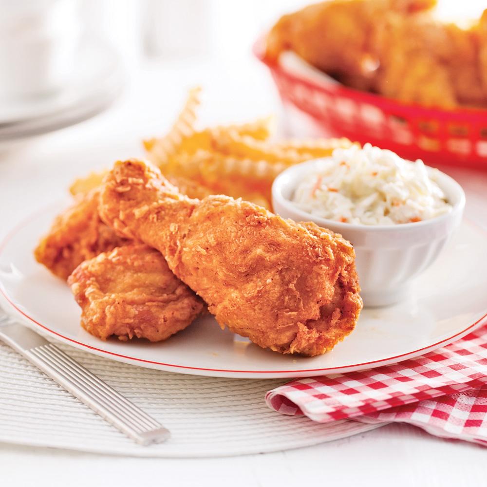 poulet frit l 39 am ricaine recettes cuisine et nutrition pratico pratique. Black Bedroom Furniture Sets. Home Design Ideas