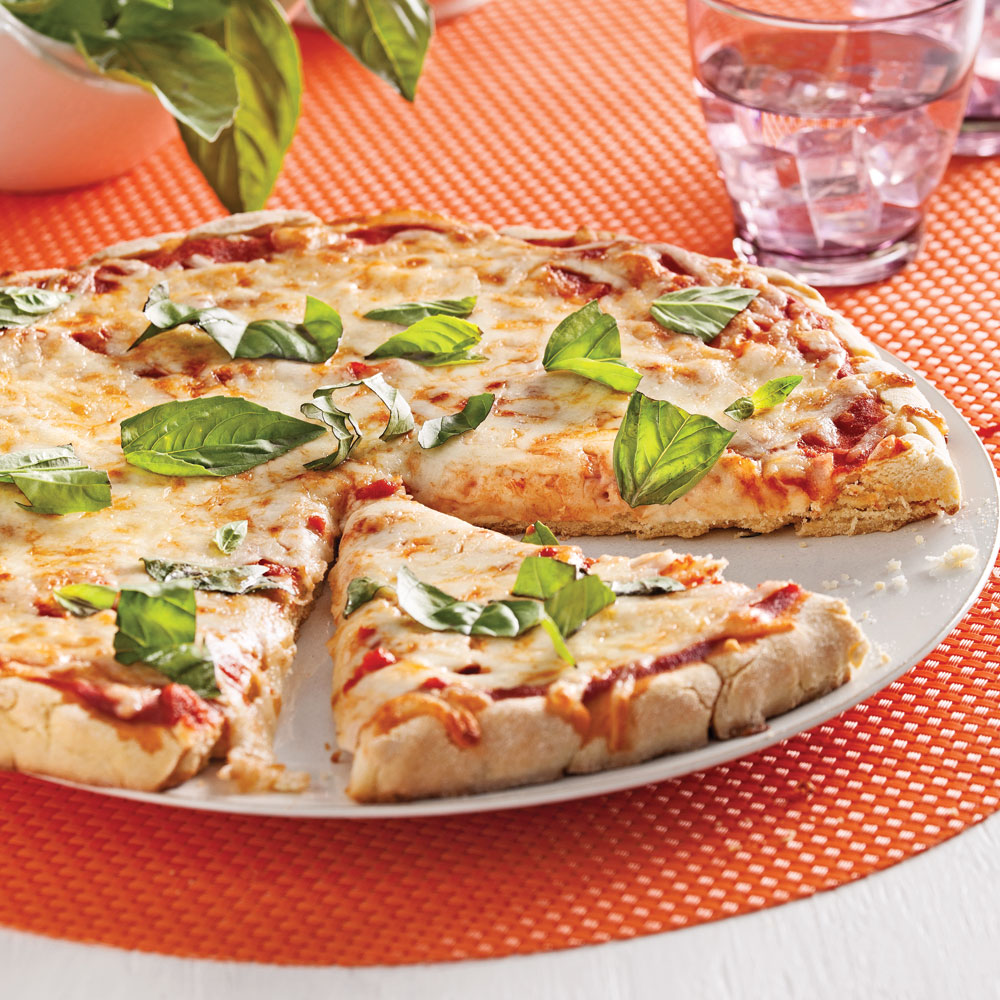 Pizza margarita sans gluten recettes cuisine et - Recettes cuisine sans gluten ...