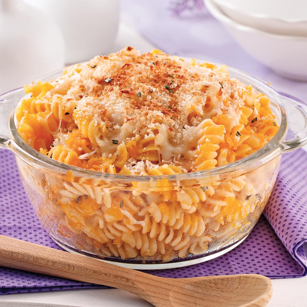 Gratin De Pâtes Et De Courge Butternut Recettes Cuisine Et - Cuisiner la courge butternut
