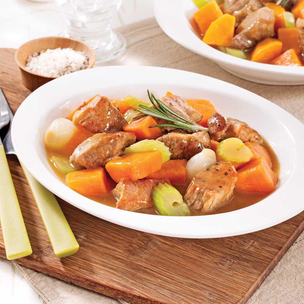 mijot de porc la patate douce recettes cuisine et nutrition pratico pratique. Black Bedroom Furniture Sets. Home Design Ideas
