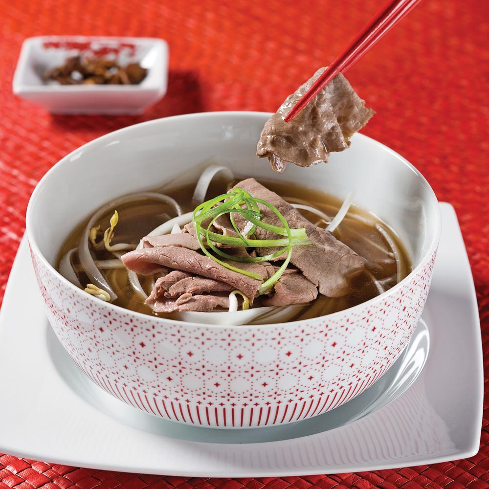 Cuisine Vietnamienne: Soupe Vietnamienne Au Boeuf