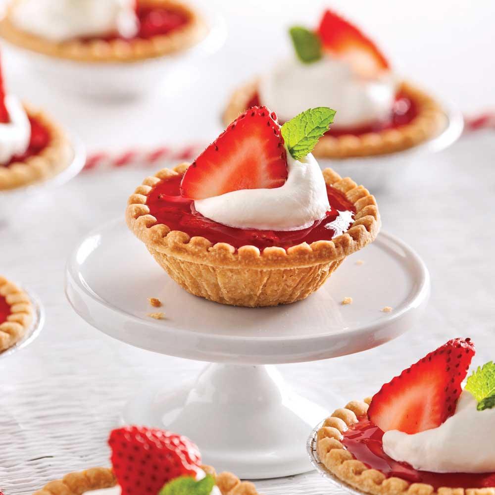 tartelettes aux fraises recettes cuisine et nutrition pratico pratique. Black Bedroom Furniture Sets. Home Design Ideas