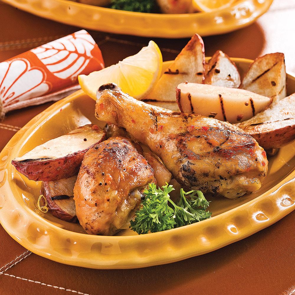 Pilons de poulet piquants la portugaise recettes - Recette de cuisine portugaise avec photo ...
