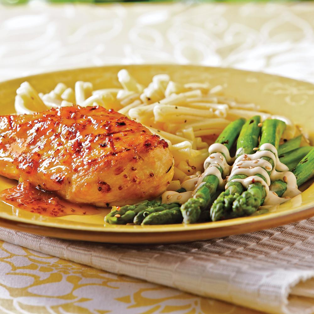 Poitrines de poulet l 39 orange et moutarde l 39 ancienne recettes cuisine et nutrition - Recette cuisine ancienne ...