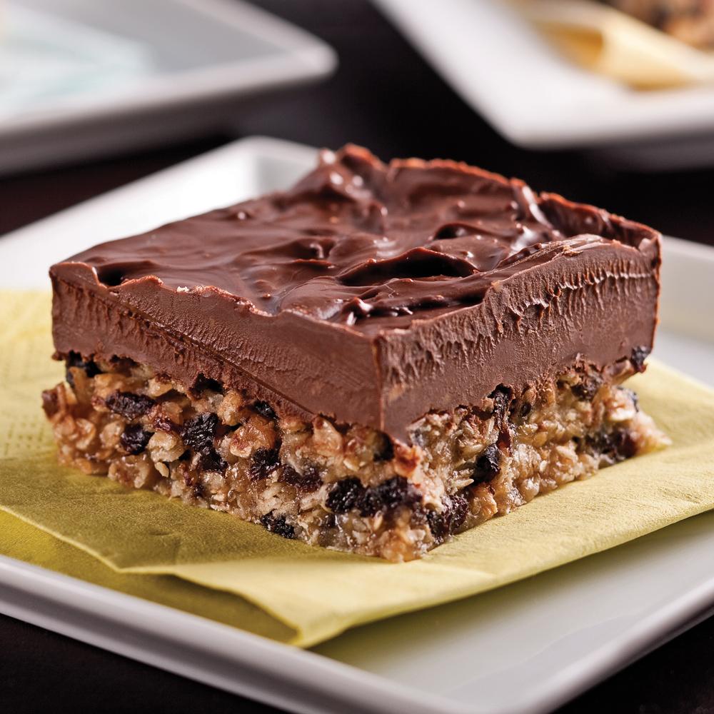 carrés au chocolat et beurre d'arachide - recettes - cuisine et