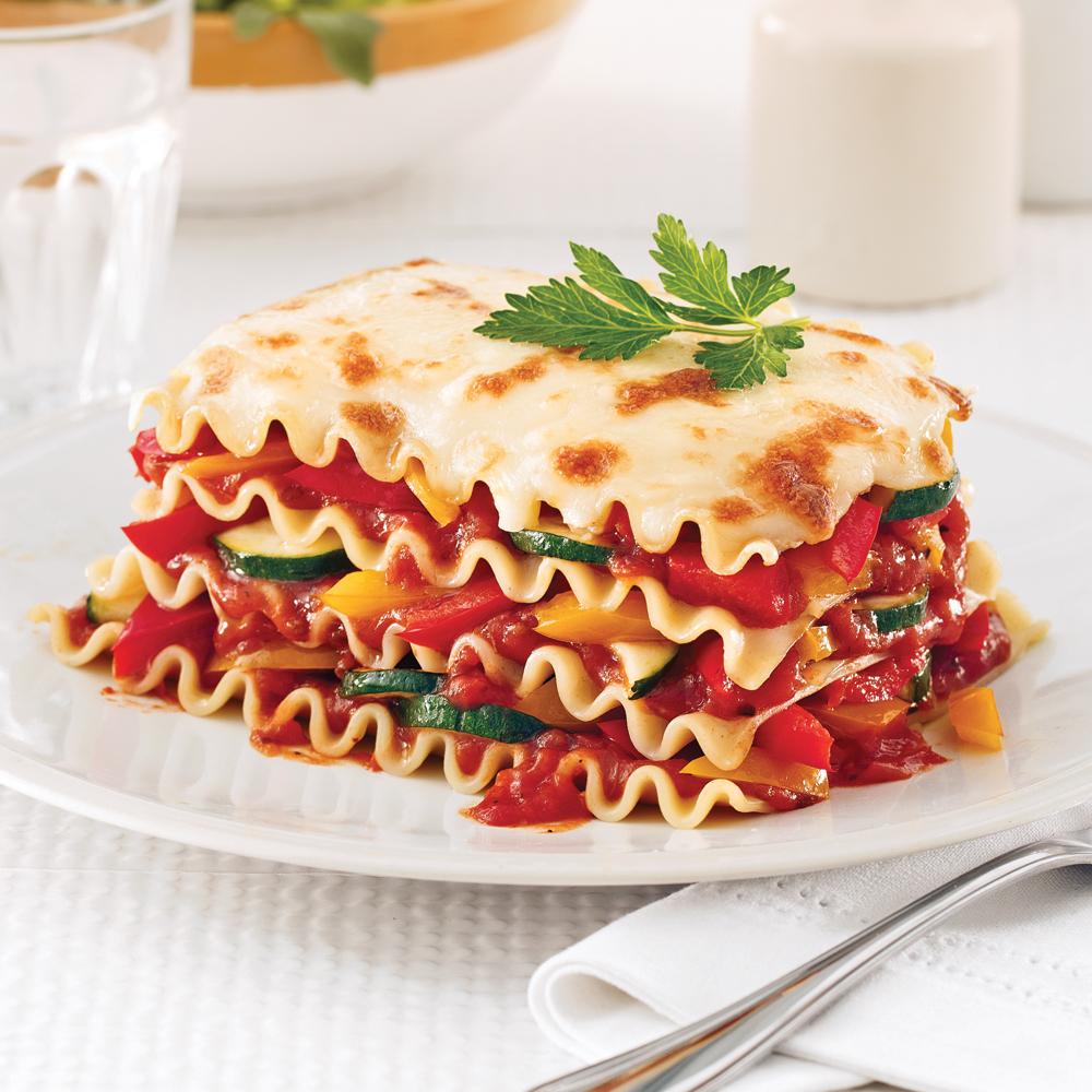 lasagne aux l gumes recettes cuisine et nutrition pratico pratique. Black Bedroom Furniture Sets. Home Design Ideas