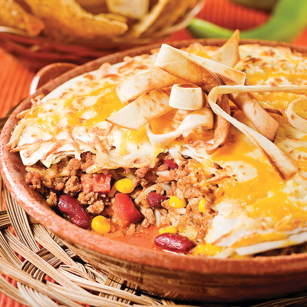 Gratin mexicain recettes cuisine et nutrition for Cuisine mexicaine