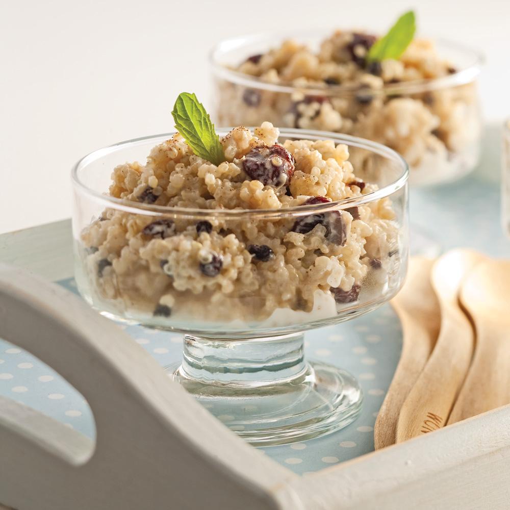 Pouding au quinoa pic recettes cuisine et nutrition for Cuisine quinoa