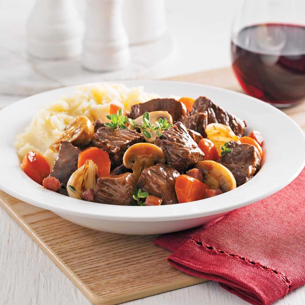Meilleures recettes mijoteuse - Cuisiner le boeuf bourguignon ...