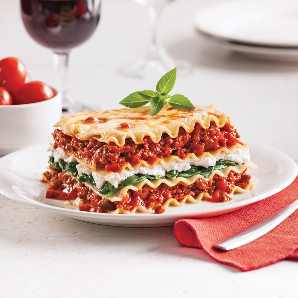 lasagne aux pinards et ricotta recettes cuisine et nutrition pratico pratique. Black Bedroom Furniture Sets. Home Design Ideas