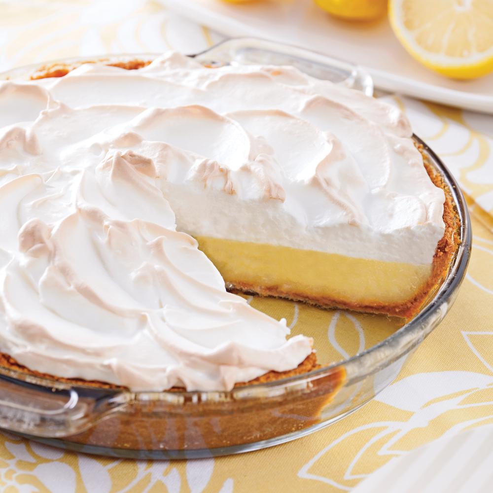 Tarte au citron meringu e recettes cuisine et nutrition pratico pratique - Recette tarte au citron sans meringue ...
