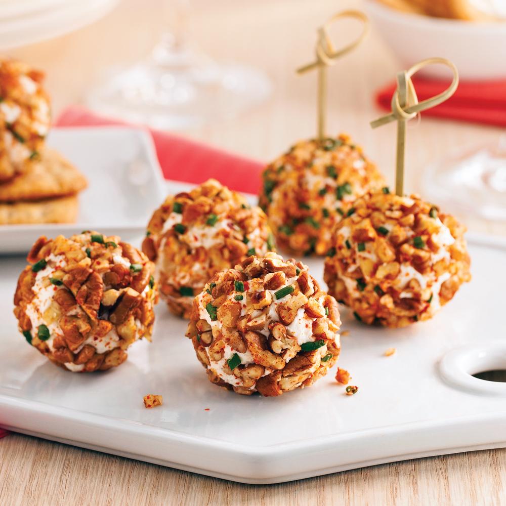 Truffes au ch vre bacon et raisins recettes cuisine - Cuisine pratique et facile ...