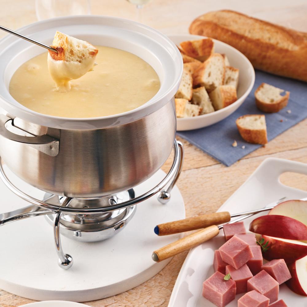 Fondue normande recettes cuisine et nutrition - Cuisine pratique ...
