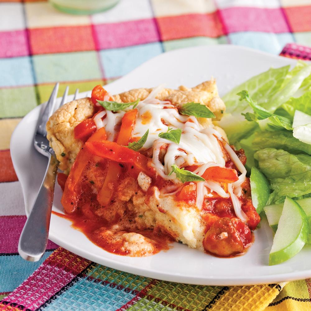 Omelette soufflée pizzaïola - Recettes - Cuisine et..