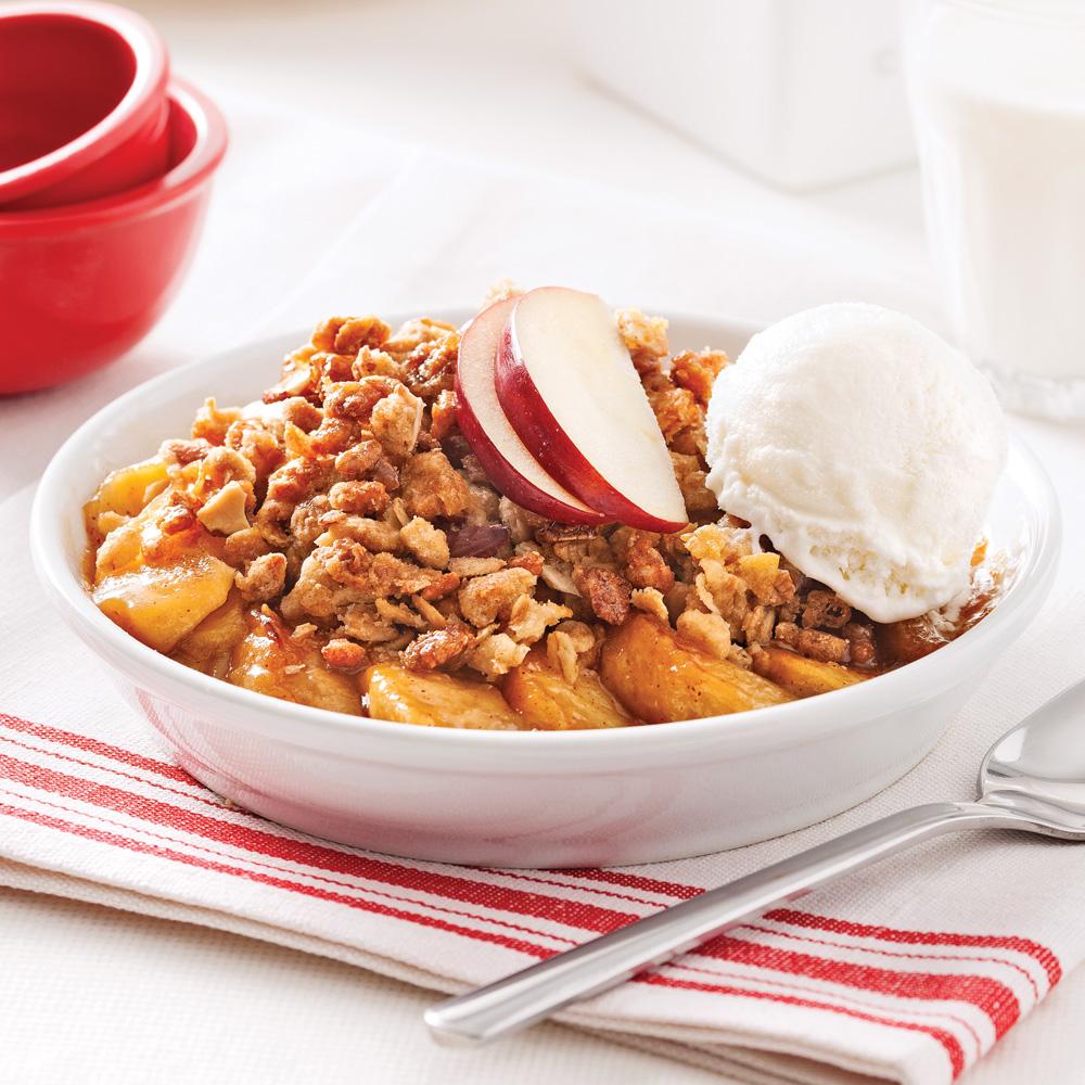 Croustade aux pommes traditionnelle recettes cuisine - Cuisine pratique ...