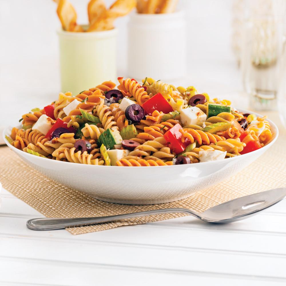 Salade de p tes l 39 italienne recettes cuisine et - Cuisine italienne pates ...