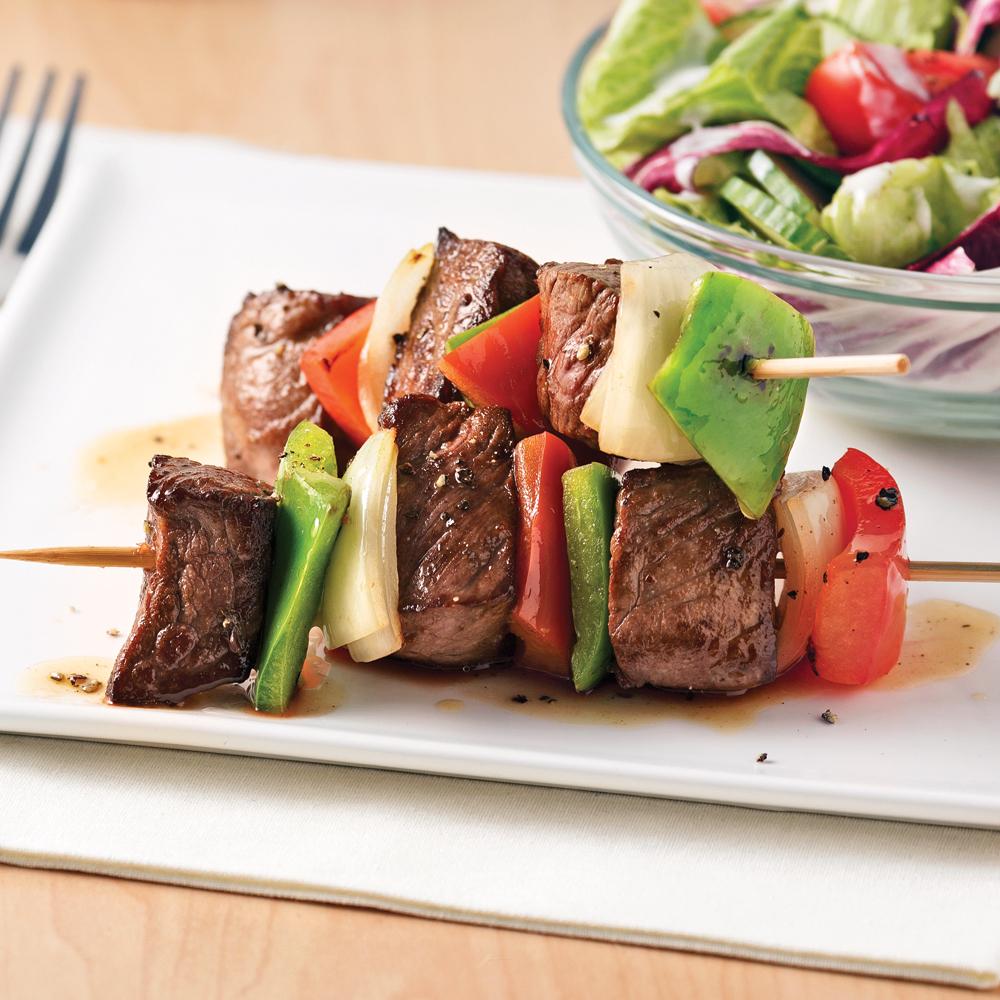 Brochettes de boeuf au four recettes cuisine et nutrition pratico pratique - Brochettes aperitives sans cuisson ...