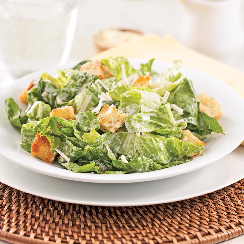 salade c sar sauce l g re recettes cuisine et nutrition pratico pratique. Black Bedroom Furniture Sets. Home Design Ideas