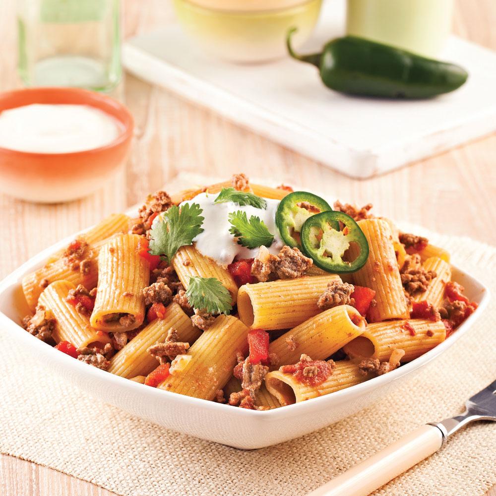 One pot pasta de rigatonis pic s recettes cuisine et for Epices de cuisine