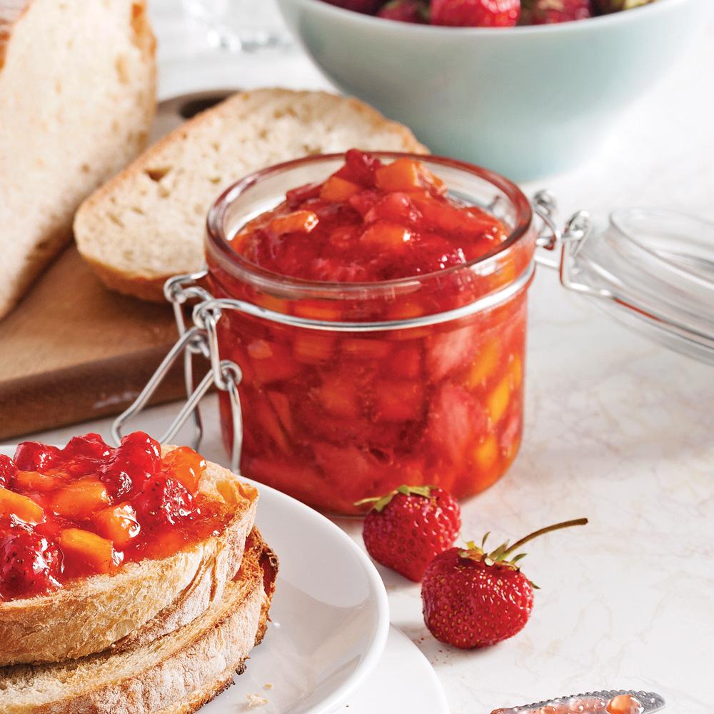 Confiture de fraises et mangue congeler recettes - Confiture de fraise maison ...