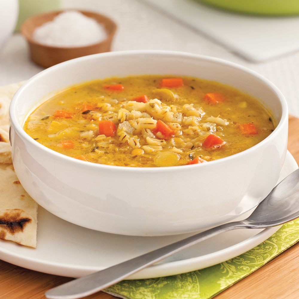 soupe d 39 orge et lentilles l 39 indienne recettes cuisine et nutrition pratico pratique. Black Bedroom Furniture Sets. Home Design Ideas