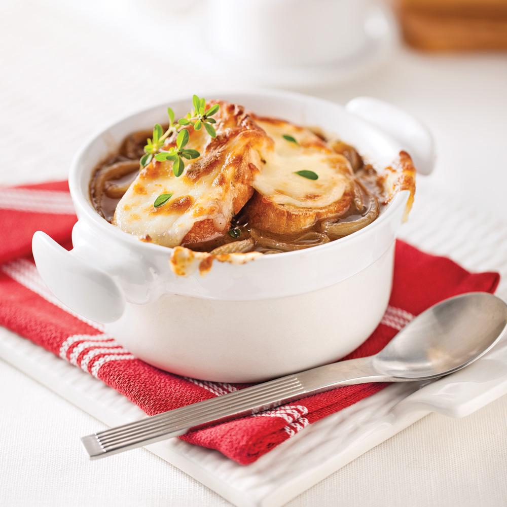 En étapes: La parfaite soupe à l'oignon - En étapes