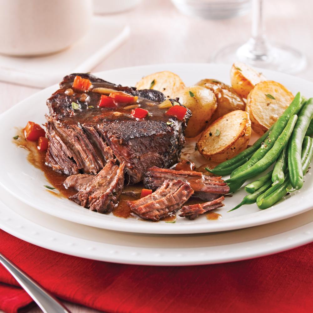 R ti de palette de b uf congeler recettes cuisine et nutrition pratico pratique - Congeler des plats cuisines ...
