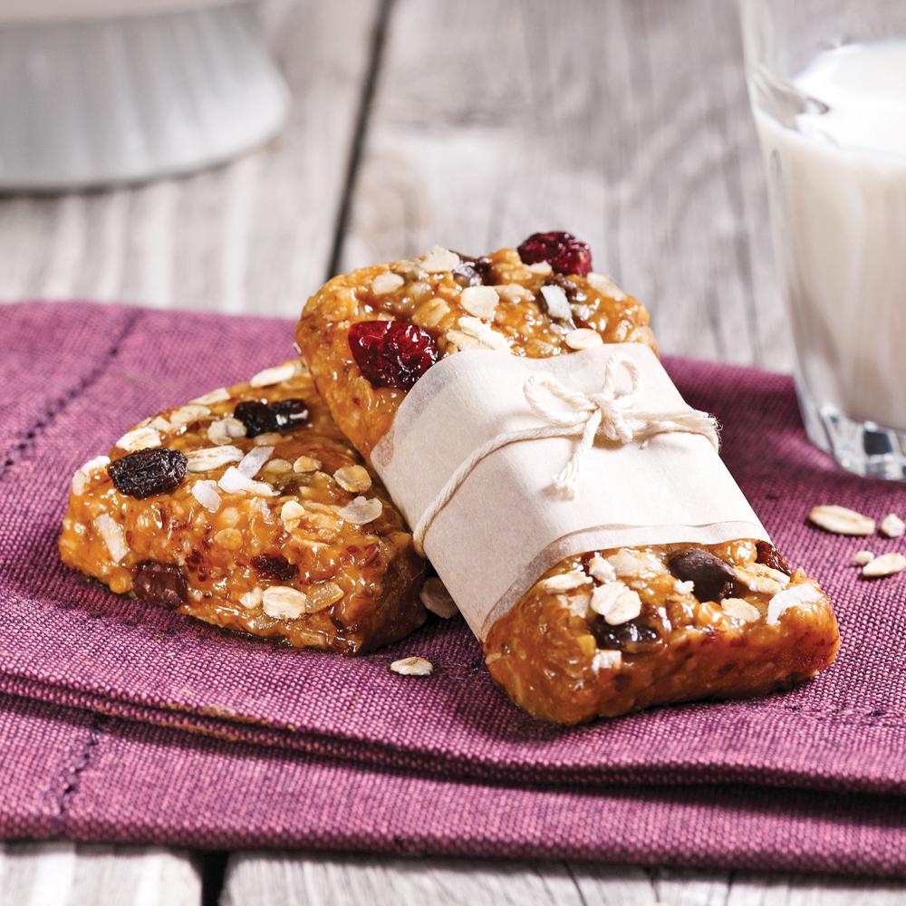 barres tendres granola sans cuisson - recettes - cuisine et