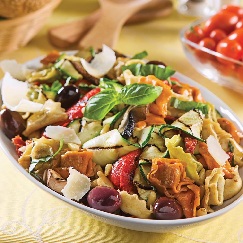 Salade ti de de tortellinis l 39 italienne recettes for Cuisine a l italienne