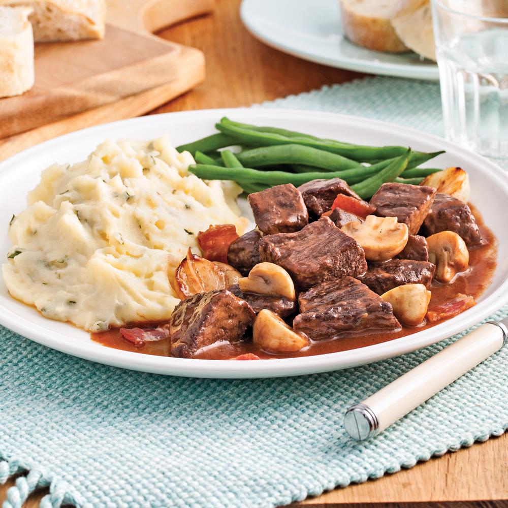 Boeuf bourguignon recettes cuisine et nutrition - Cuisine pratique ...