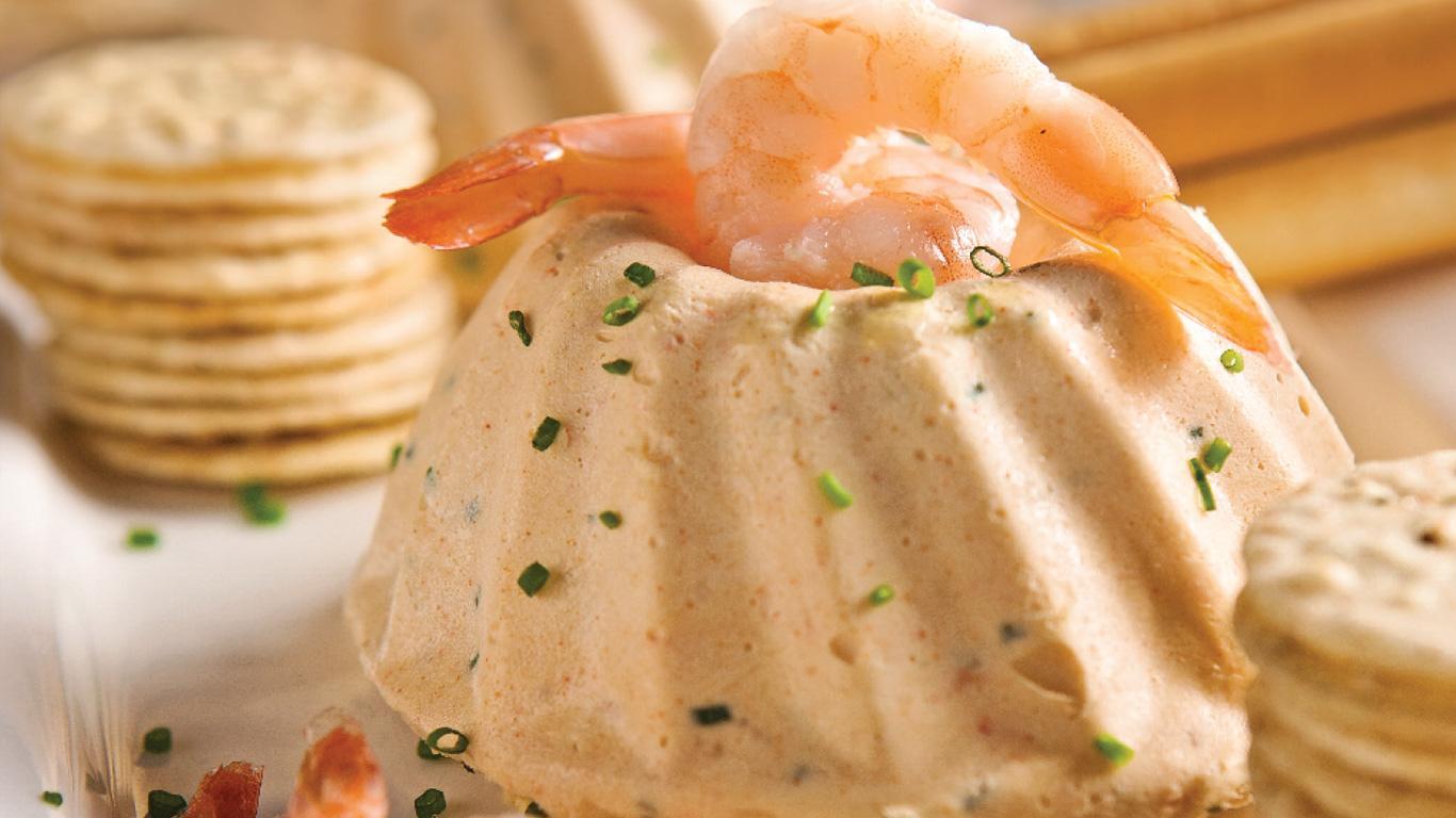 mousse aux crevettes et saumon fum recettes cuisine et nutrition pratico pratique. Black Bedroom Furniture Sets. Home Design Ideas