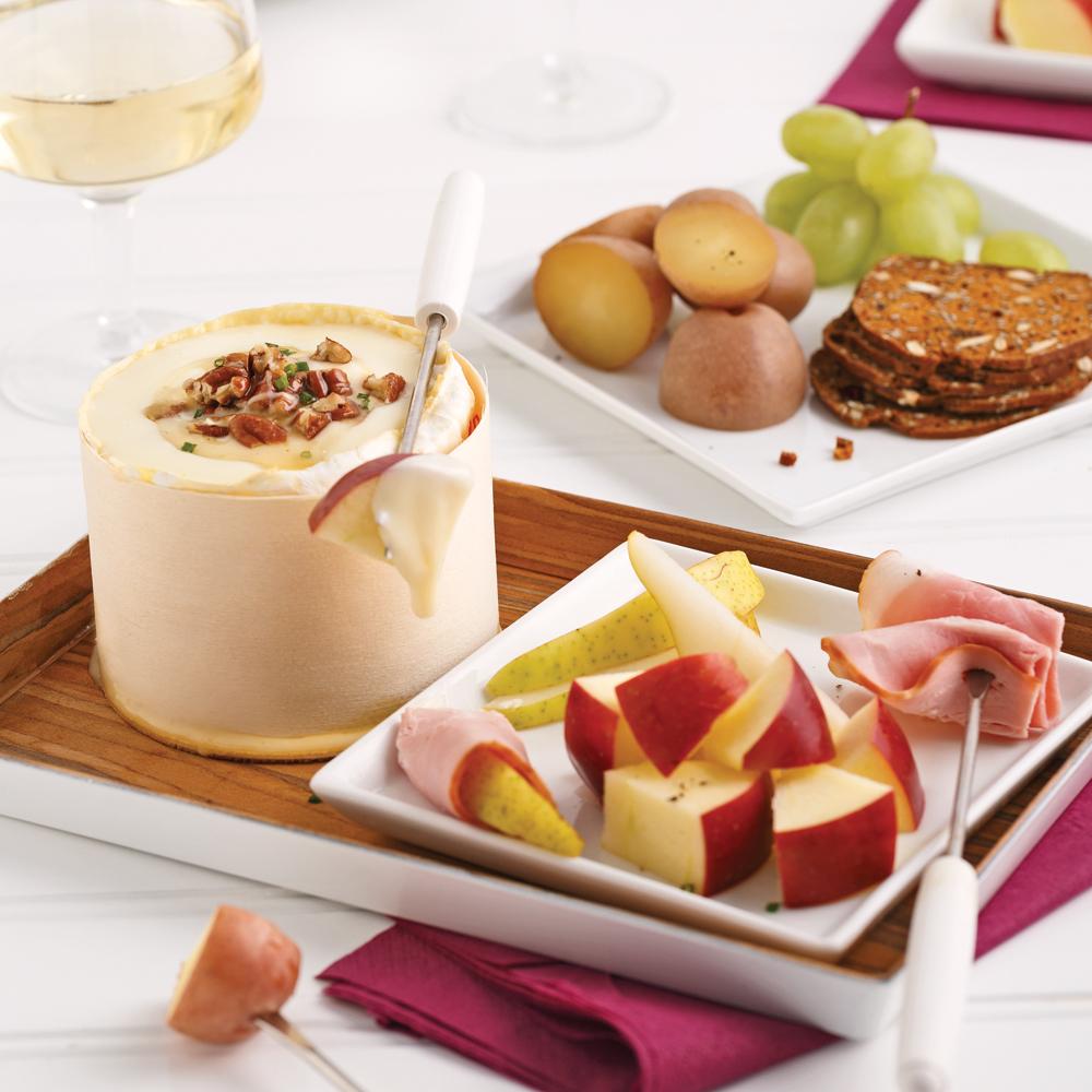 Fondue au brie recettes cuisine et nutrition pratico for Cuisine 5 15