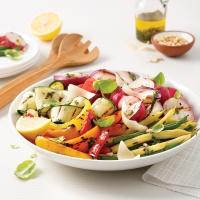 Recettes cuisine et nutrition pratico pratique - Antipasti legumes grilles ...