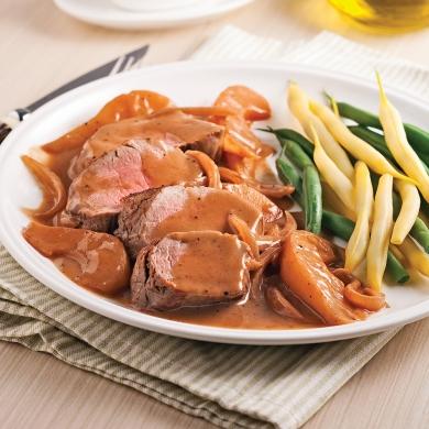 Filet de porc aux poires et vin rouge soupers de semaine for Vin rouge pour cuisiner
