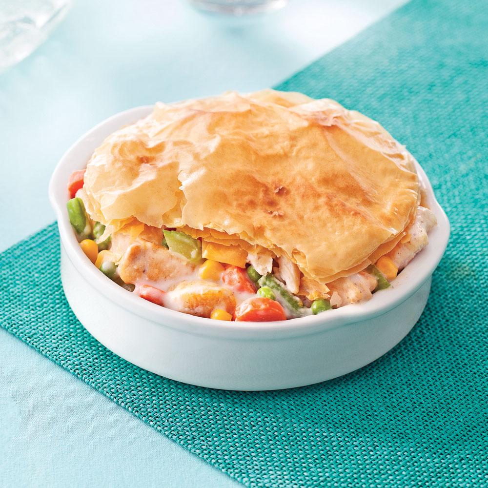 p 226 t 233 s au poulet en p 226 te phyllo soupers de semaine recettes 5 15 recettes express 5 15