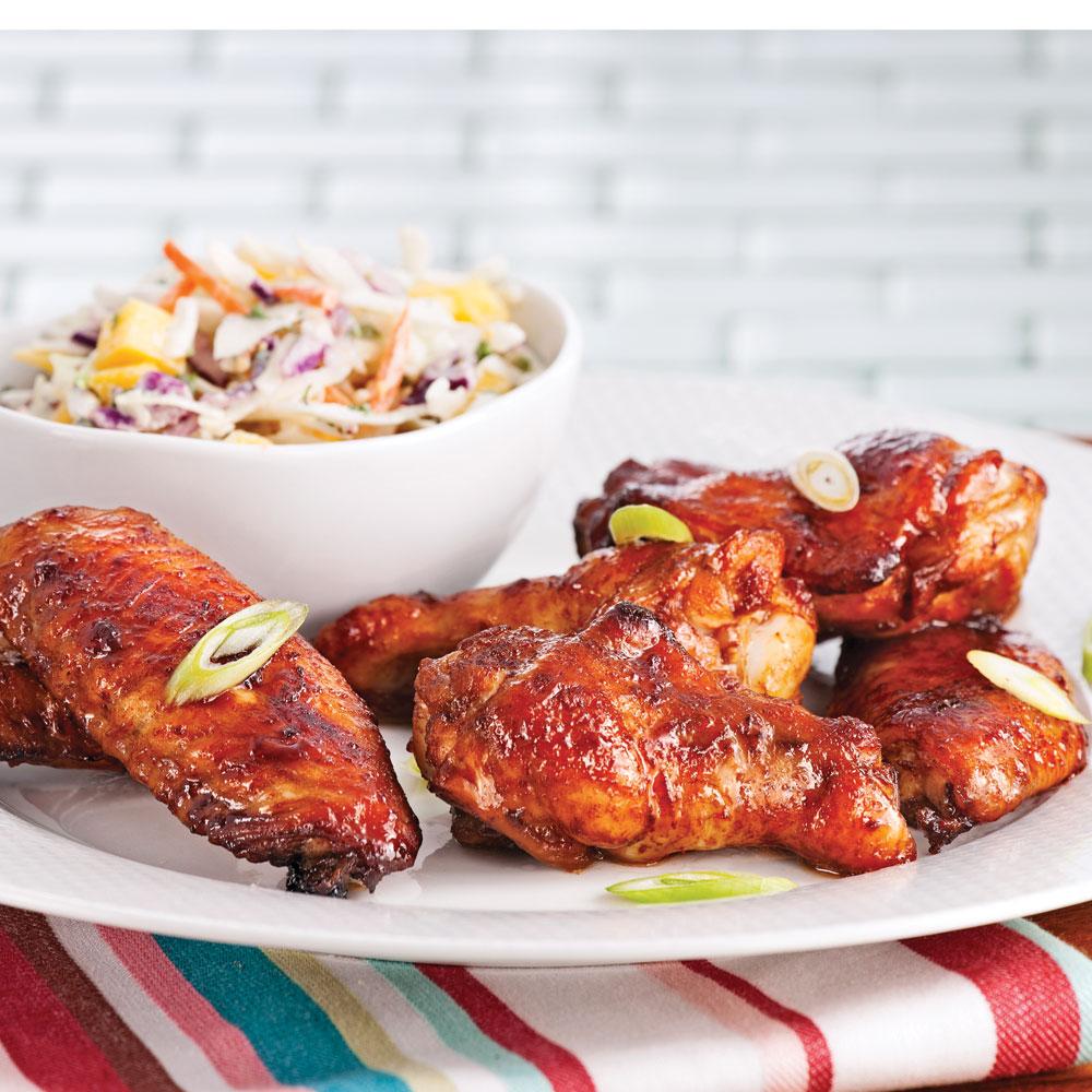 Ailes de poulet sauce aigre douce soupers de semaine recettes 5 15 recettes express 5 15 - Cuisiner des ailes de poulet ...