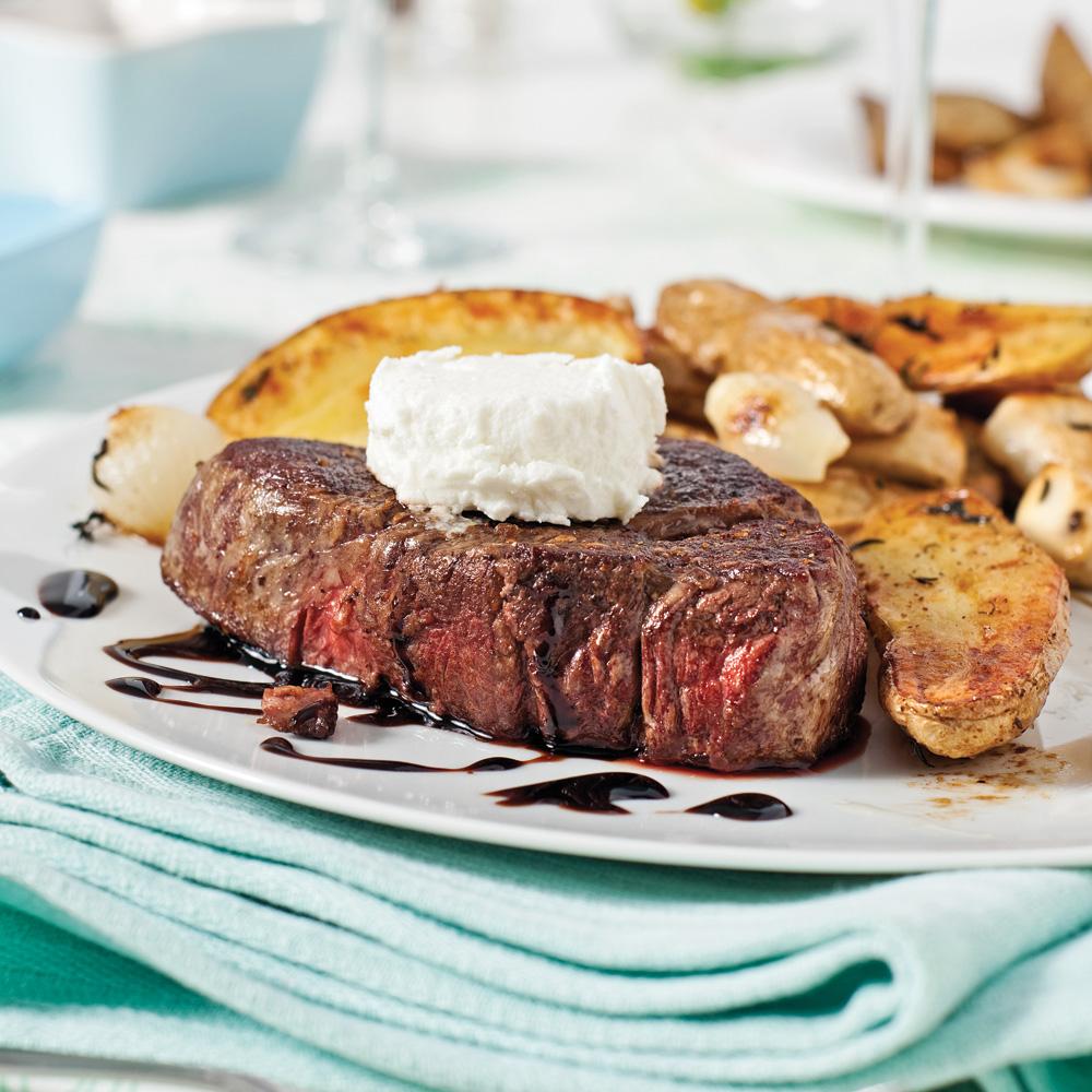 Filets mignons au vinaigre balsamique et fromage de ch vre pour recevoir recettes 5 15 - Vinaigre balsamique calorie ...
