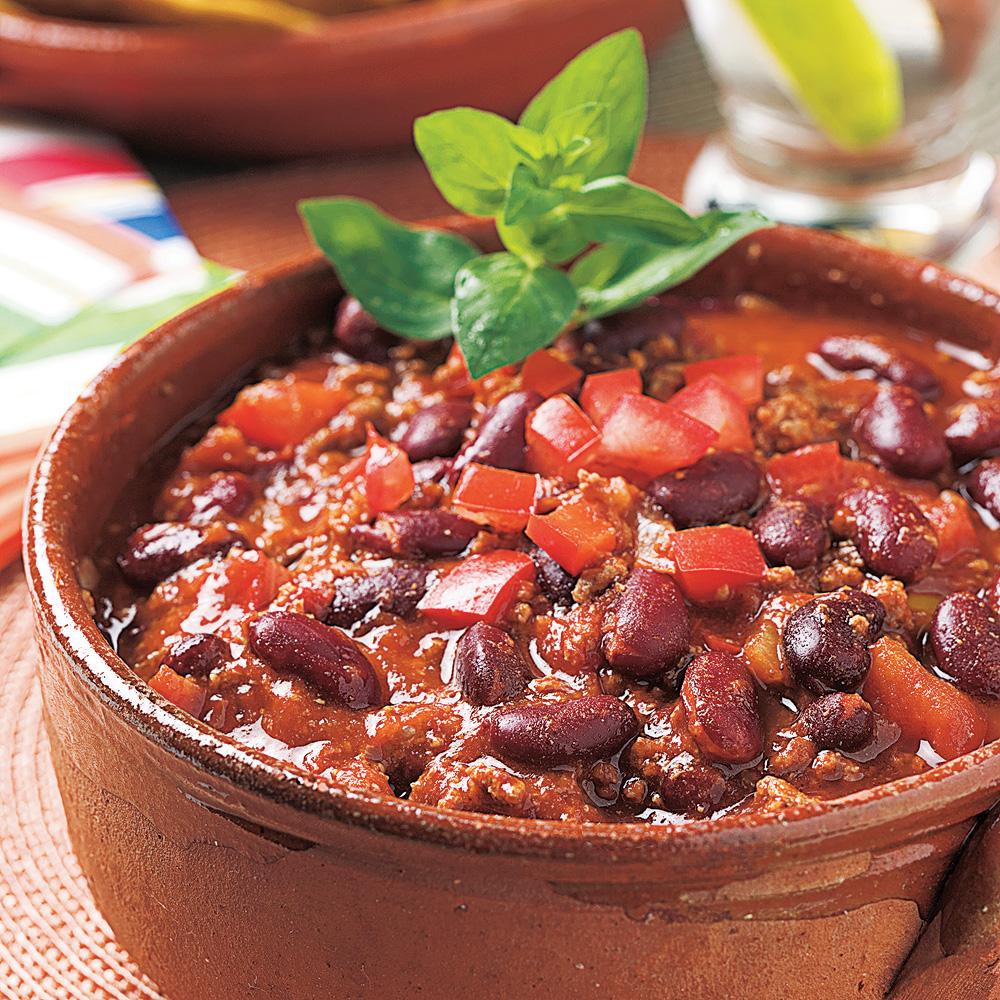 Chili con carne soupers de semaine recettes 5 15 recettes express 5 15 pratico pratique - Recette chili cone carne thermomix ...
