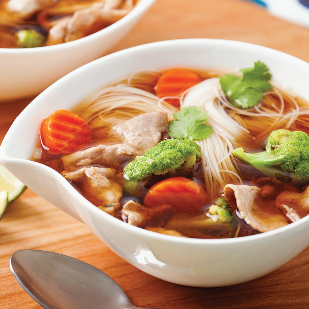 Soupe asiatique au boeuf et legumes soupers de semaine for Cuisine asiatique