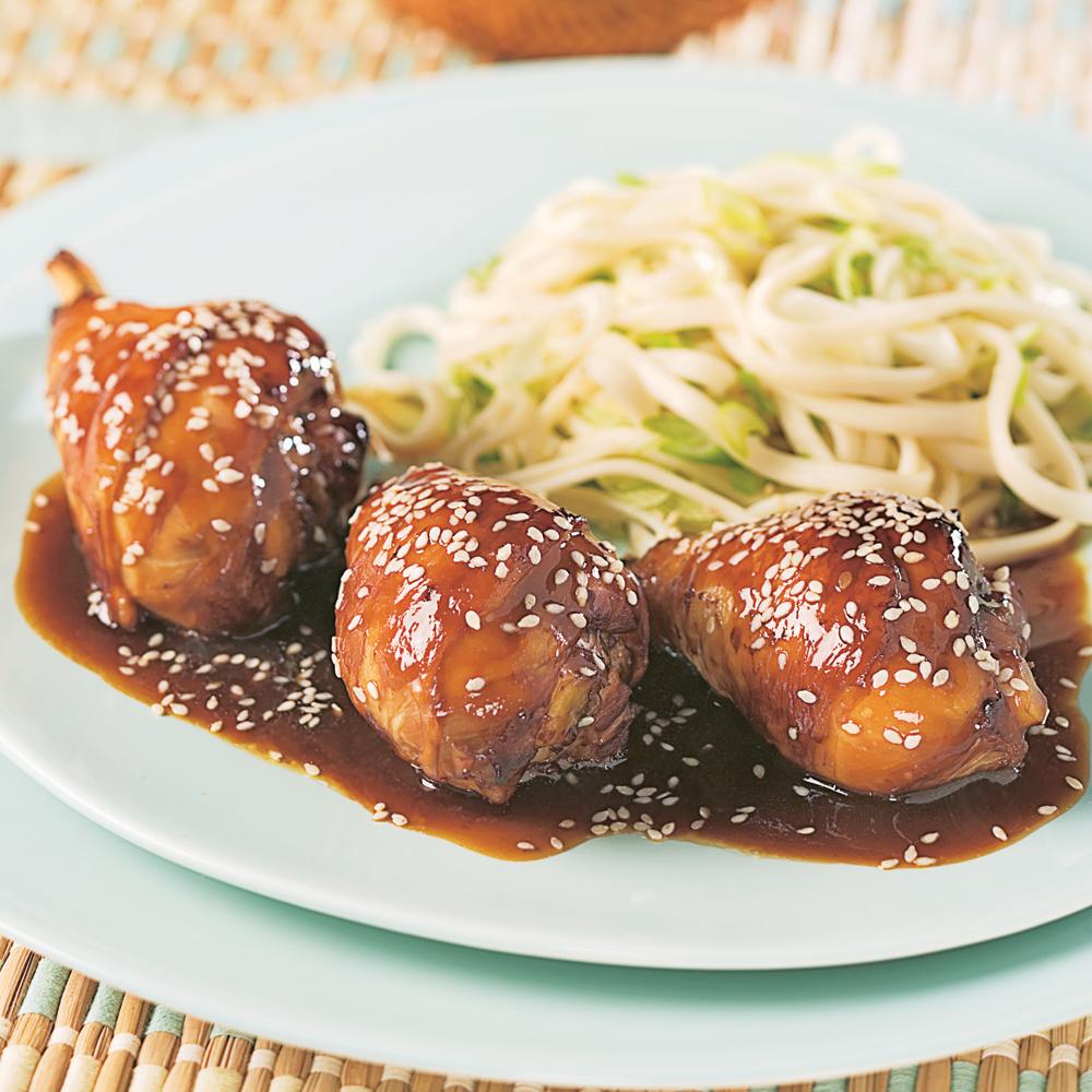 Pilons de poulet sauce g n ral tao soupers de semaine recettes 5 15 recettes express 5 15 - Cuisiner le poulet en sauce ...