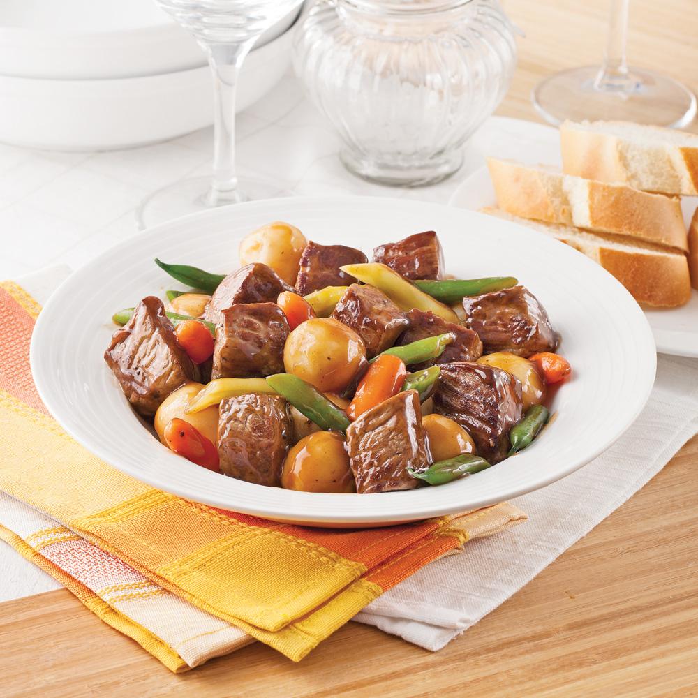 Mijot de boeuf et pommes de terre la bi re soupers de semaine recettes 5 15 recettes - Pommes de terre a la braise ...