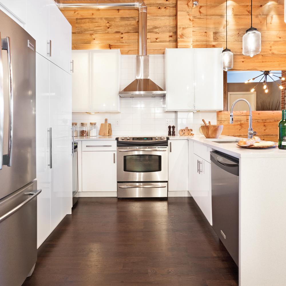 Une cuisine ambiance chalet - Cuisine - Inspirations - Décoration